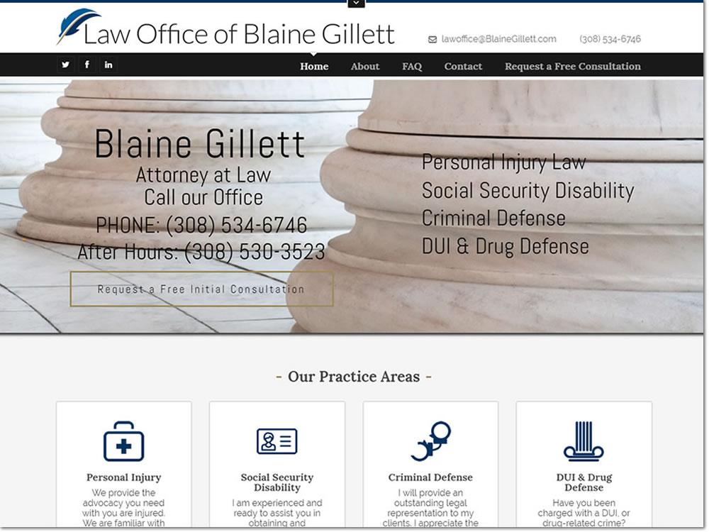 Law Office of Blaine Gillett