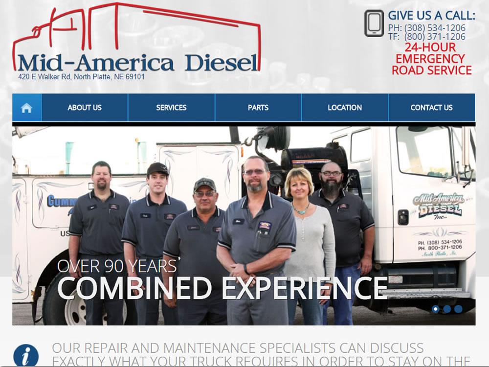 Mid-America Diesel - Website