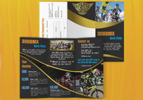 308 BMX Trifold Brochure