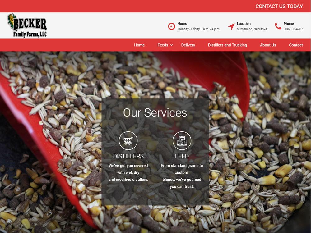 Becker Feed Website