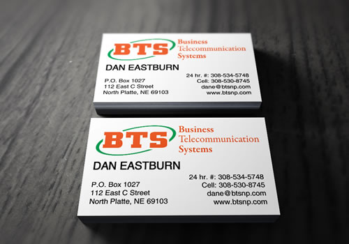 Business Telecommunication Systems - Business Card