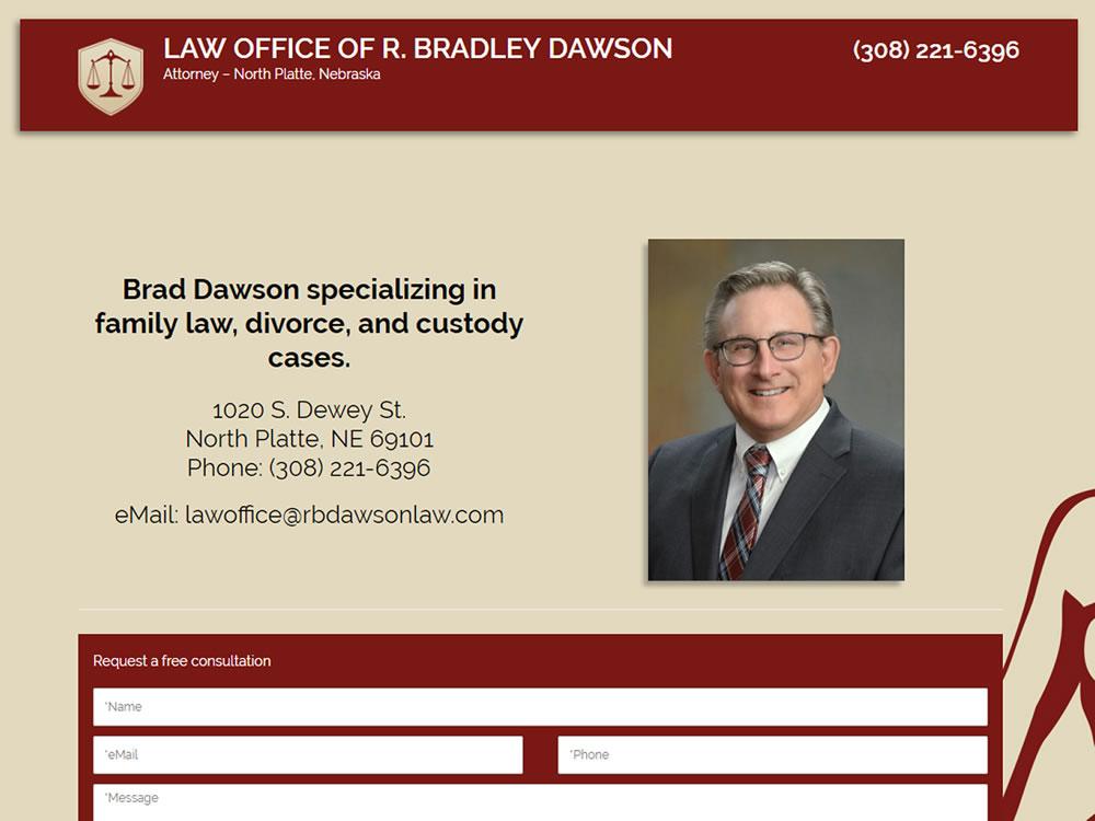 R. Bradley Dawson - Website