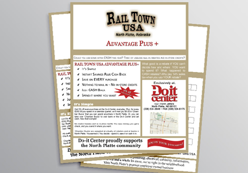 Do-It Center - Rail Town USA | Sales Sheet