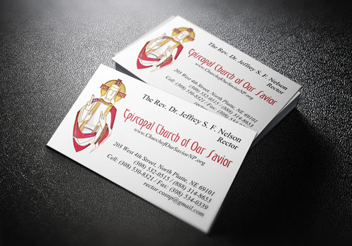Church of Our Savior - Business Cards