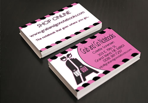 Grab and Go Notebooks - Business Card