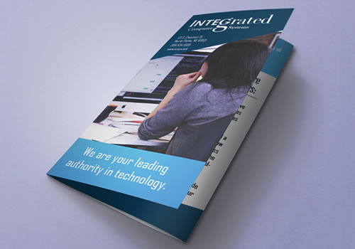 Integrated Computer Systems Tri-fold Brochure