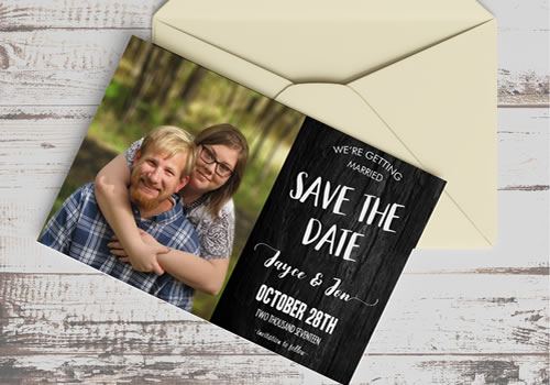 Save the Date - Postcard