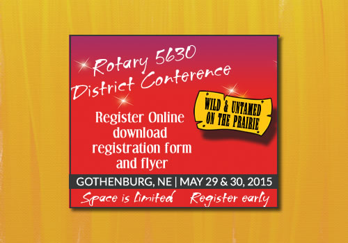 Rotary District 5630 | 2015 Conference Graphics
