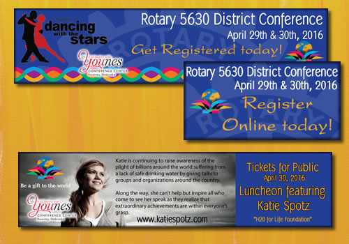 Rotary District 2016 | Conference Graphics
