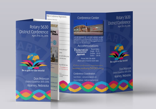 Rotary District 2016 | Conference Flyer