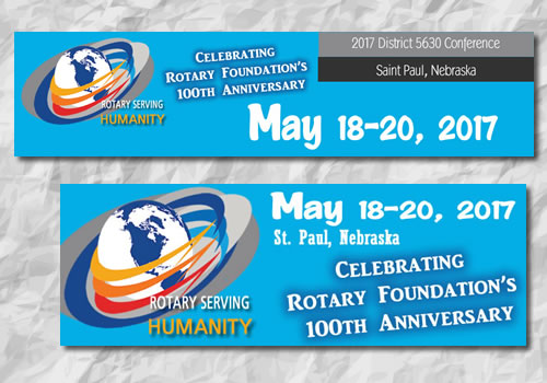 Rotary District 2017 | Conference Graphics