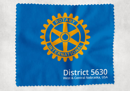 Rotary District 5630 | Lens Cloth