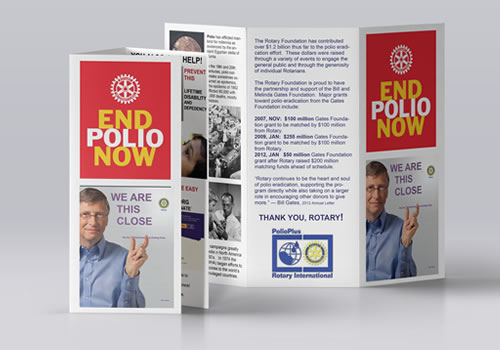 Rotary District 5630 | Polio Brochure