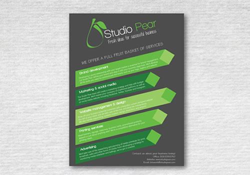 Studio Pear - Poster