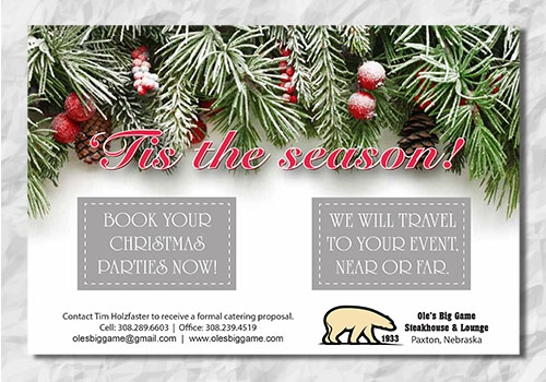 Holiday Catering - Facebook