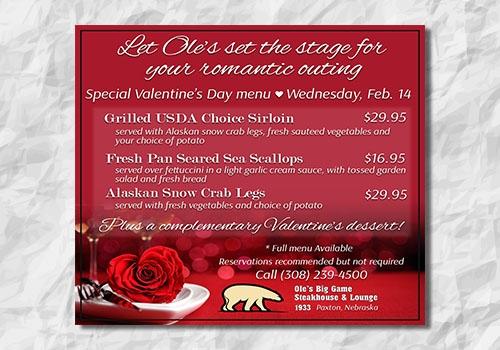 Valentines Day Ad - Facebook