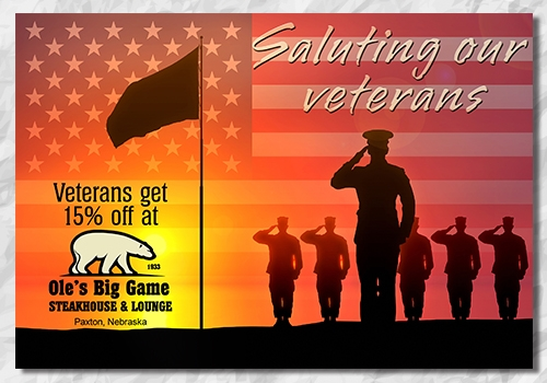 Veterans Day Ad - Facebook